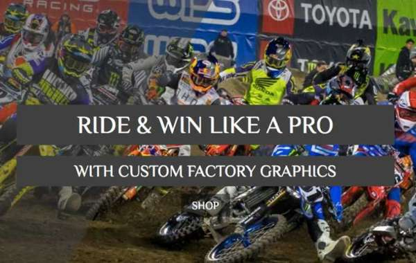 THE BEAUTY OF CUSTOM MOTOCROSS GRAPHICS FOR ENHANCING THE BEAUTY