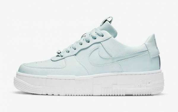 Nike Air Force 1 Pixel Ghost Aqua to Release on October 22, 2020