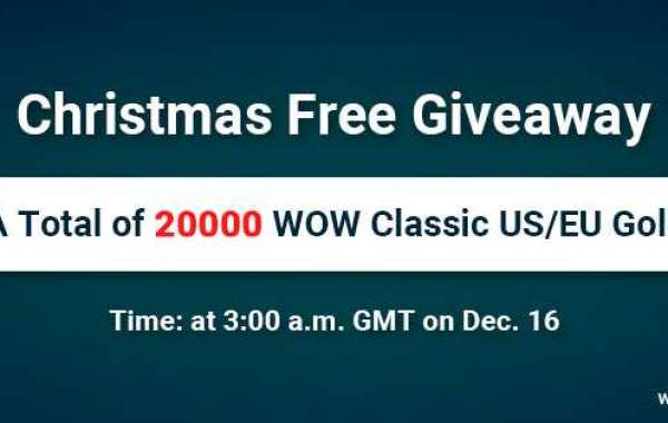 Get ready to welcome Christmas with Free 20000 classic wow gold