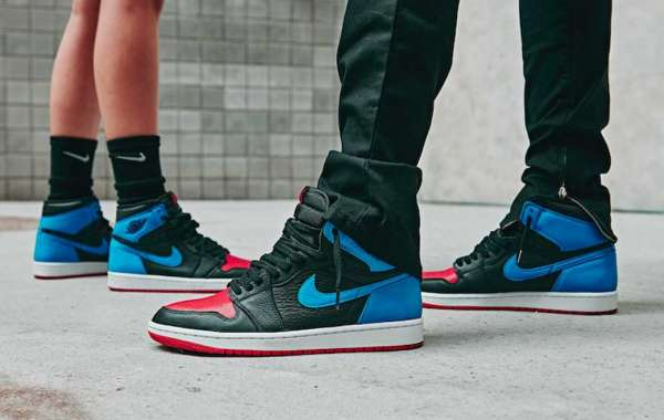"CD0461-046 Air Jordan 1 High OG ""UNC To Chicago"" 2021 New Arrival"