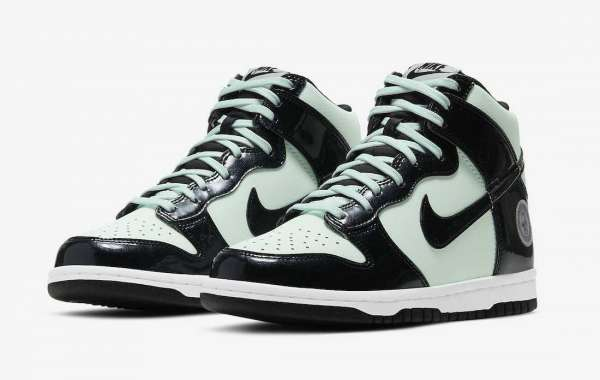"Nike Dunk High ""All-Star"" 2021 New Arrival DD1398-300"