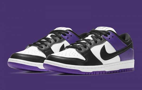 "How do you score this pair of Dunk SB? Nike SB Dunk Low ""Court Purple"" 2021 New Arrival."