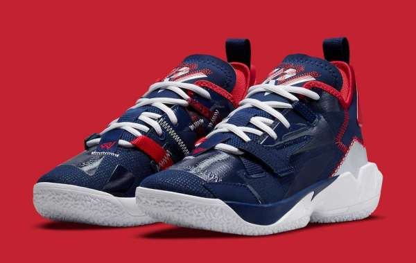 """Jordan """"Why not?"""" Zer0.4 gets the perfect Washington Wizards color scheme"""
