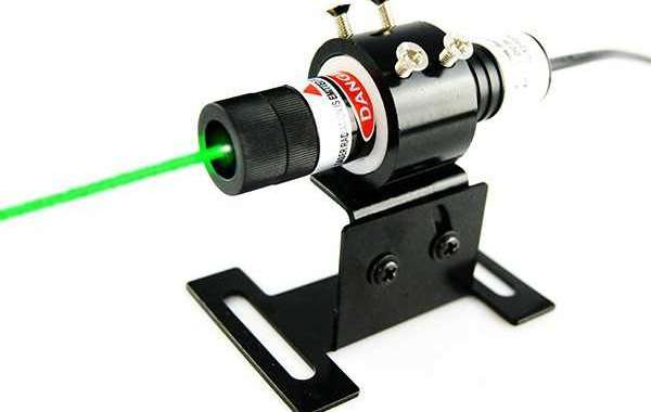 515nm Forest Green Dot Laser Alignment Review