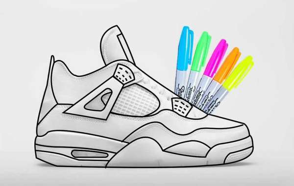 "Latest 2021 Air Jordan 4 Retro GS ""DIY"" to release on August 19th"