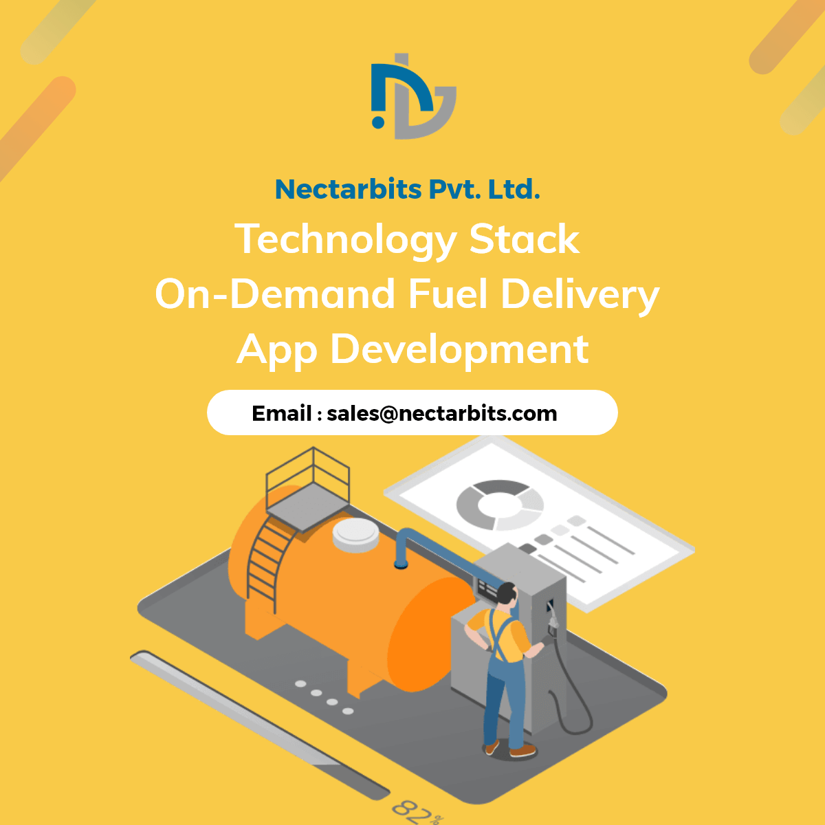 The Best Tech Stack For On-Demand Fuel Delivery App Development - Nectarbits